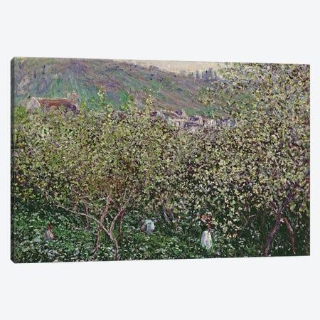 Fruit Pickers, 1879  Canvas Print #BMN3515} by Claude Monet Canvas Art