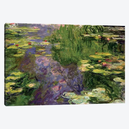 Waterlilies  Canvas Print #BMN3516} by Claude Monet Canvas Art