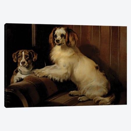 Bon Canvas Print #BMN3517} by Sir Edwin Landseer Canvas Art