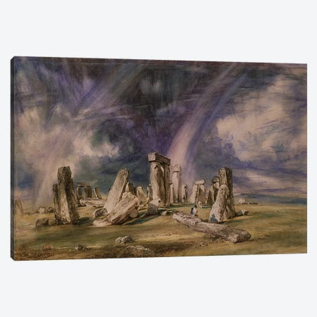 Stonehenge, 1835  Canvas Print #BMN352} by John Constable Canvas Art