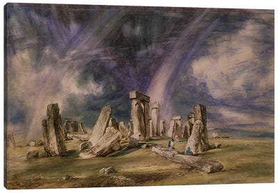 Stonehenge, 1835  Canvas Art Print