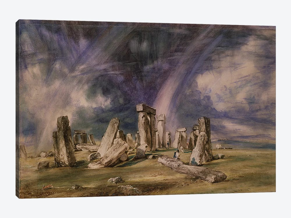 Stonehenge, 1835  by John Constable 1-piece Canvas Wall Art