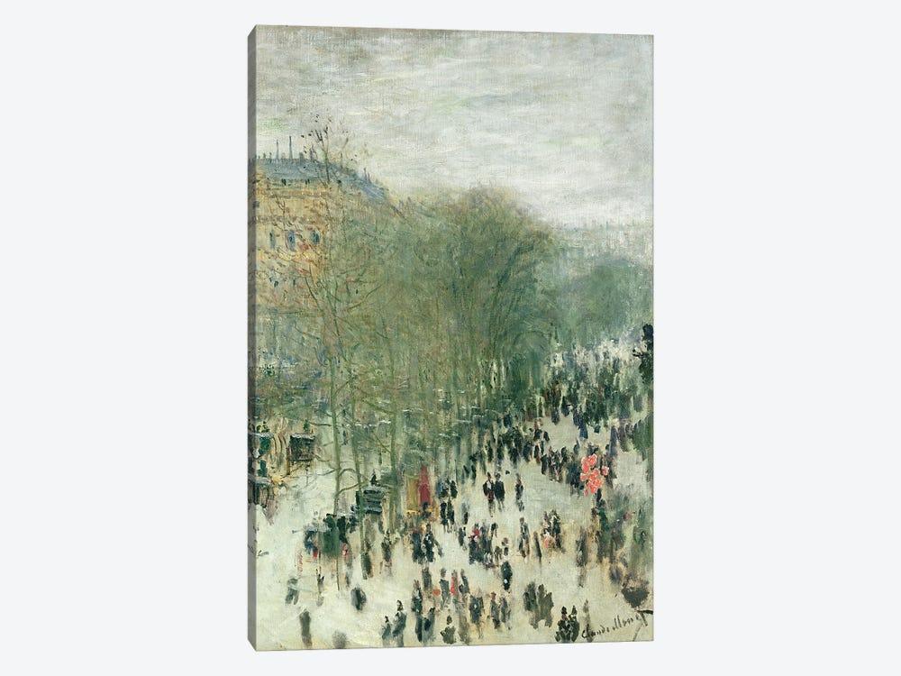 Boulevard des Capucines, 1873-4  by Claude Monet 1-piece Canvas Wall Art
