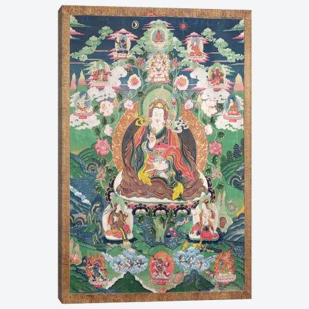 Tanka of Padmasambhava, c.749 AD  Canvas Print #BMN3534} by Tibetan School Canvas Wall Art