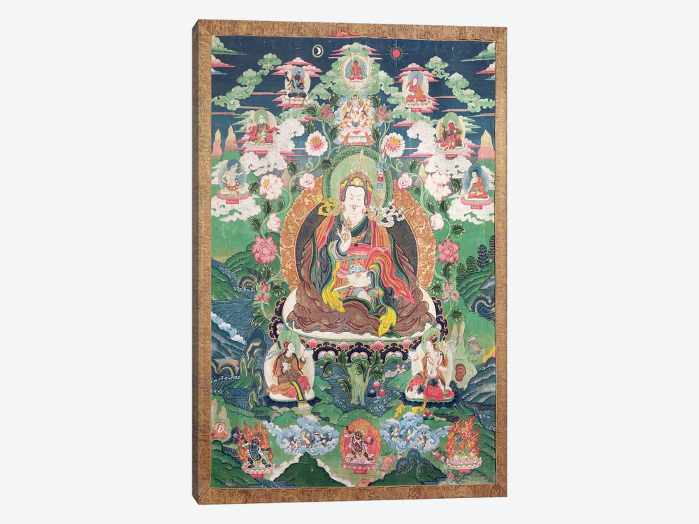 Tanka of Padmasambhava, c.749 AD  by Tibetan School 1-piece Canvas Artwork