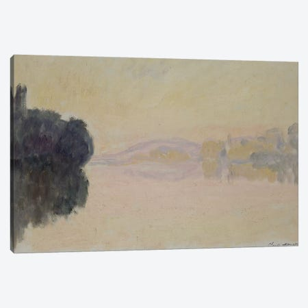 The Seine at Port-Villez, 1894  Canvas Print #BMN3538} by Claude Monet Canvas Art Print