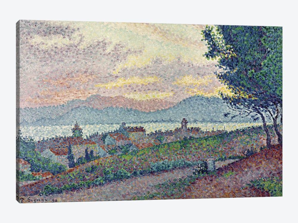 St. Tropez, Pinewood, 1896  by Paul Signac 1-piece Canvas Art Print