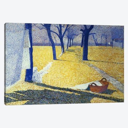 Washing in the Sun, 1905  Canvas Print #BMN354} by Giuseppe Pellizza da Volpedo Canvas Art Print