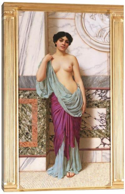 In the Tepidarium, 1909  Canvas Art Print