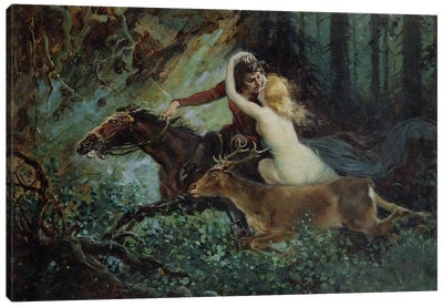 Elegy of Bohemia, 1917  Canvas Art Print