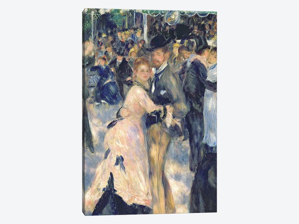 Ball at the Moulin de la Galette, 1876   by Pierre-Auguste Renoir 1-piece Art Print