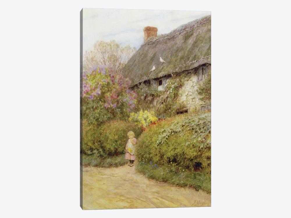 Freshwater Cottage  by Helen Allingham 1-piece Canvas Art Print