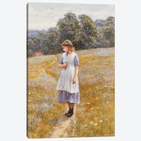 Daydreamer, 1878  Canvas Print #BMN3568} by Helen Allingham Canvas Wall Art