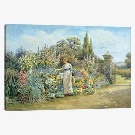 In the Garden  Canvas Print #BMN3574} by William Ashburner Canvas Artwork