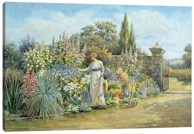 In the Garden Canvas Art Print