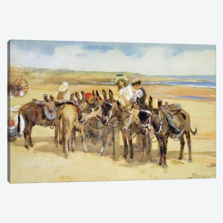 Tynemouth Sands, 1907  Canvas Print #BMN3575} by John Atkinson Canvas Wall Art