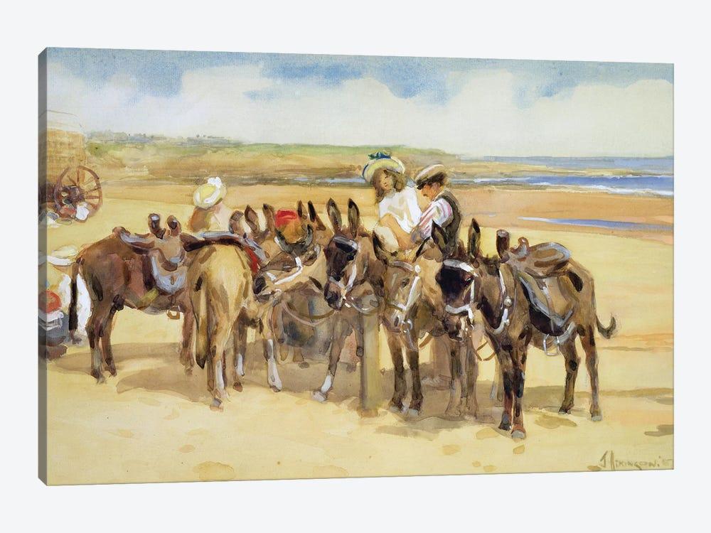 Tynemouth Sands, 1907  by John Atkinson 1-piece Canvas Art Print
