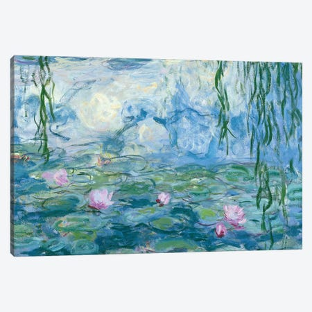 Waterlilies, 1916-19   Canvas Print #BMN3585} by Claude Monet Canvas Print
