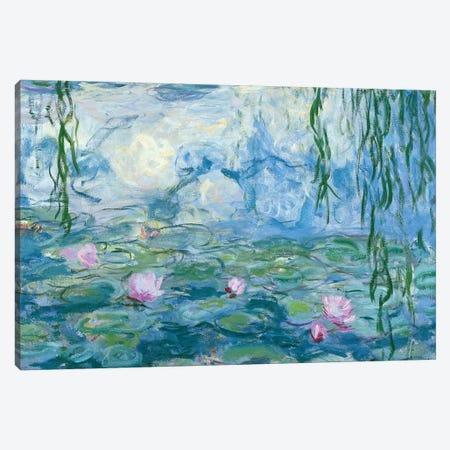 Waterlilies, 1916-19   Canvas Print #BMN3585} by Claude Monet Canvas Print