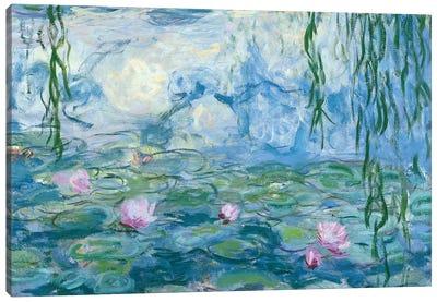 Waterlilies, 1916-19   Canvas Art Print