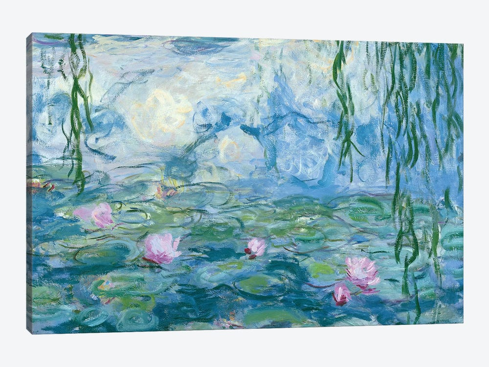 Waterlilies, 1916-19   by Claude Monet 1-piece Canvas Art