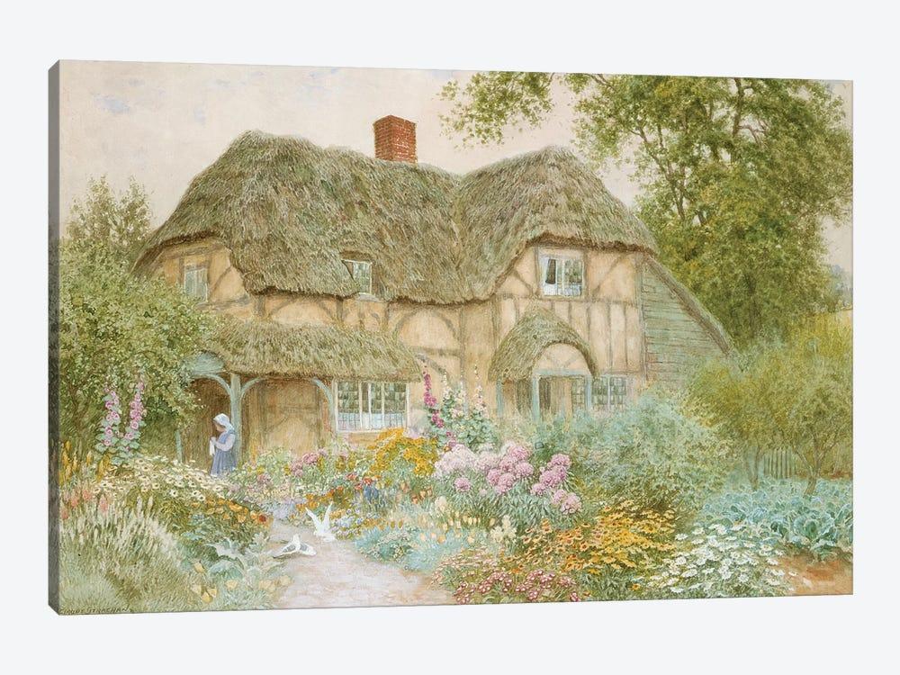 A Surrey Cottage  by Arthur Claude Strachan 1-piece Art Print