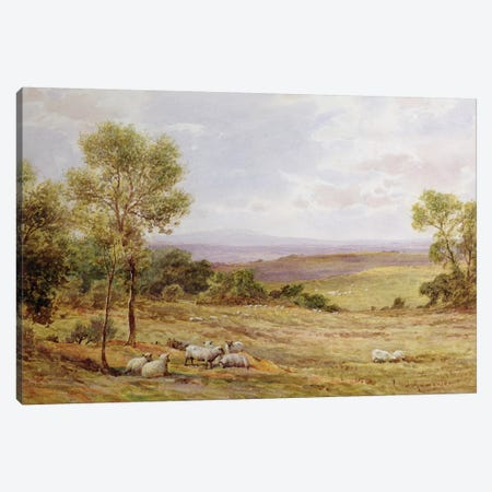 Cumberland hills from Wardrew House, Gilston  Canvas Print #BMN3593} by James Aumonier Canvas Art Print