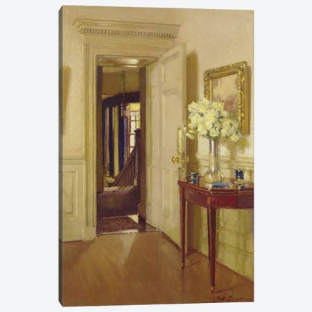 Interior, Gribdae, 1921  Canvas Print #BMN3594} by Patrick William Adam Canvas Wall Art
