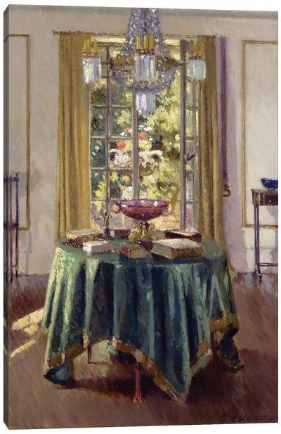 The Green Table Cloth, 1926  Canvas Art Print
