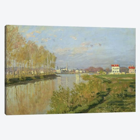 The Seine at Argenteuil, 1873  Canvas Print #BMN359} by Claude Monet Canvas Art