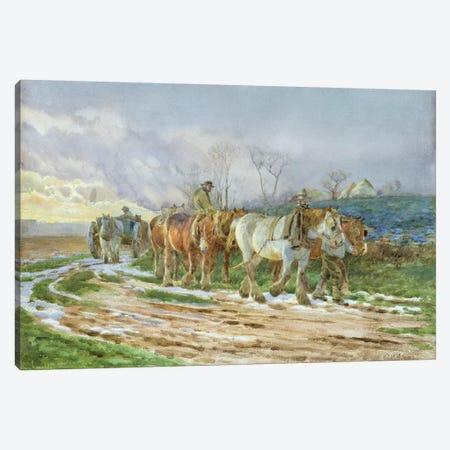 Homeward Bound  3-Piece Canvas #BMN3600} by Charles James Adams Canvas Print