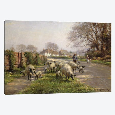 Springtime, 1918  Canvas Print #BMN3612} by William Kay Blacklock Canvas Wall Art