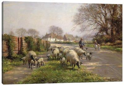 Springtime, 1918  Canvas Art Print