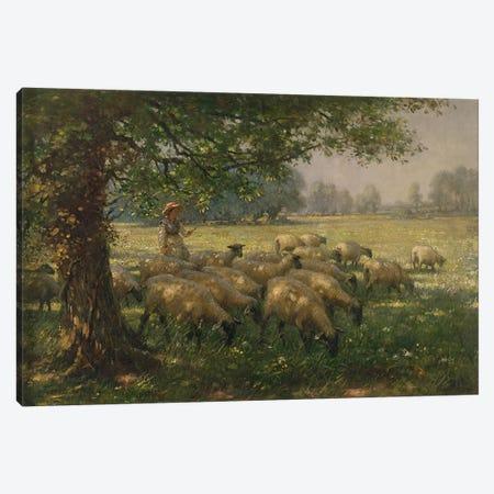 The Shepherdess  Canvas Print #BMN3613} by William Kay Blacklock Canvas Art