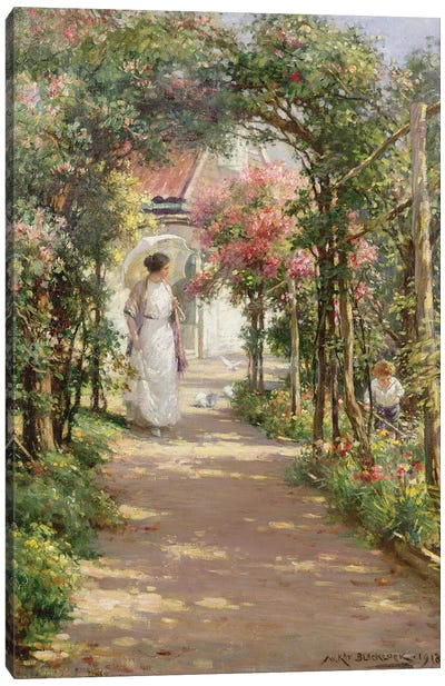 Summer, 1918  Canvas Art Print