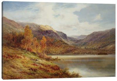 October in the Highlands  Canvas Art Print