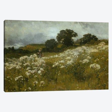 Across the Fields  Canvas Print #BMN3623} by John Mallord Bromley Art Print
