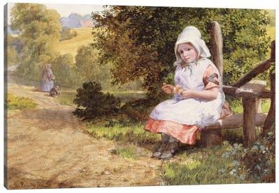 Resting, 1865  Canvas Art Print