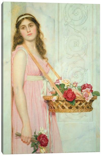 The Flower Seller, 1929  Canvas Art Print
