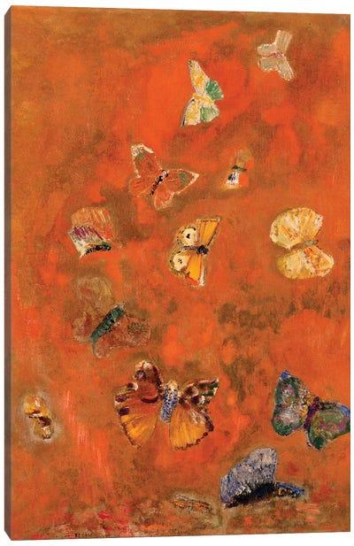 Evocation of Butterflies, c.1912  Canvas Art Print