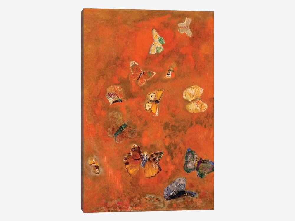 Evocation of Butterflies, c.1912  by Odilon Redon 1-piece Art Print