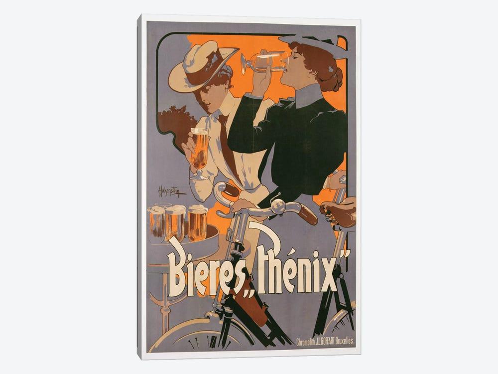 Poster advertising Phenix beer, c.1899  by Adolfo Hohenstein 1-piece Canvas Art Print