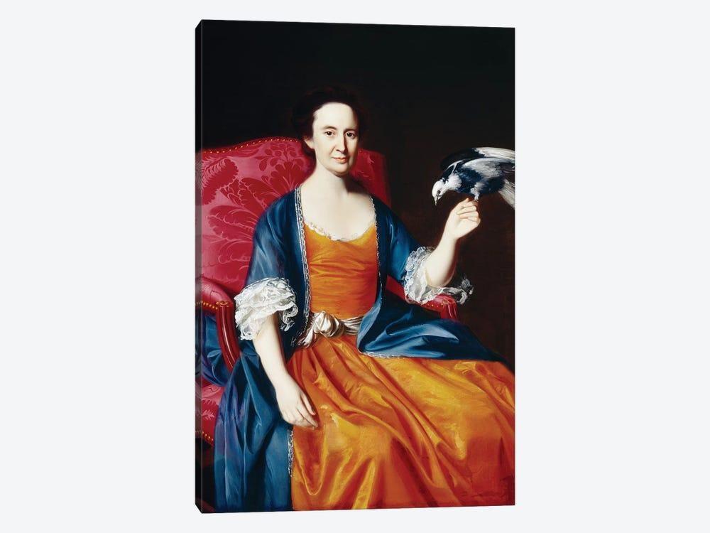 Mrs. Benjamin Hallowell, 1766/67  by John Singleton Copley 1-piece Canvas Art