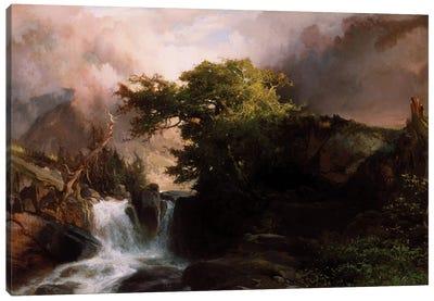 A Mountain Stream, 1869  Canvas Art Print