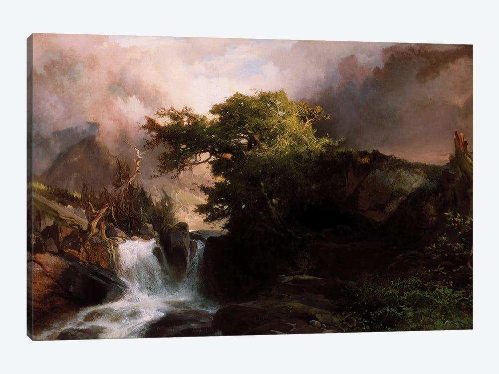 A Mountain Stream, 1869  by Thomas Moran 1-piece Canvas Artwork