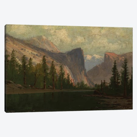 Yosemite  Canvas Print #BMN3662} by Albert Bierstadt Art Print