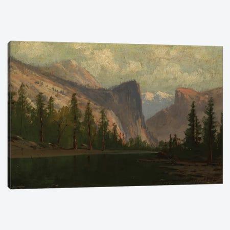 Yosemite  Canvas Print #BMN3662} by Albert Bierstadt Art Print