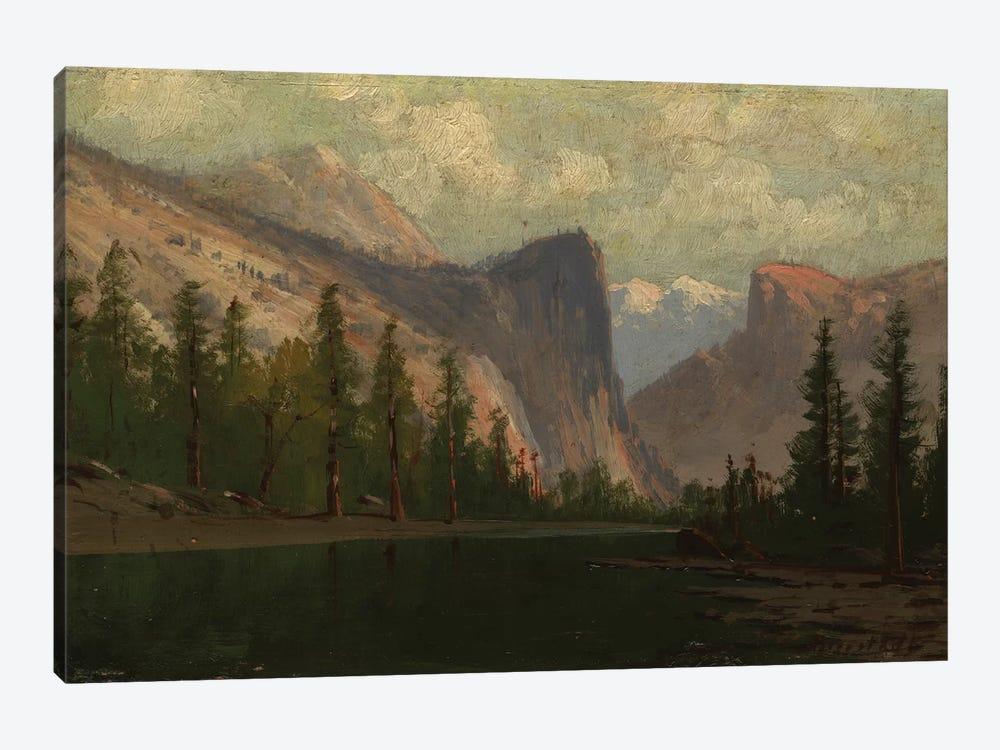 Yosemite  by Albert Bierstadt 1-piece Canvas Art Print