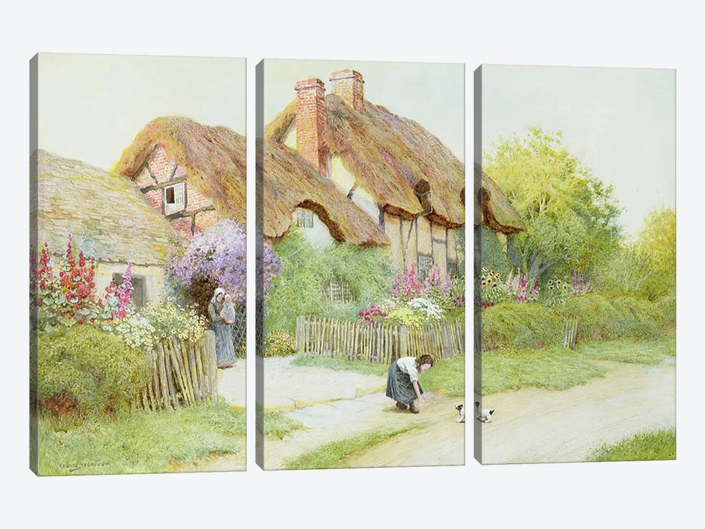 Making Friends  by Arthur Claude Strachan 3-piece Art Print