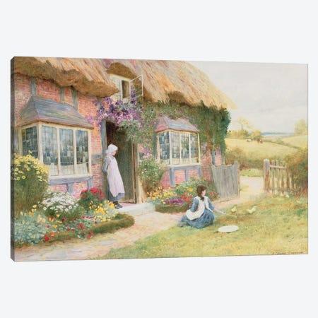 Peaceful Afternoon  Canvas Print #BMN3674} by Arthur Claude Strachan Art Print
